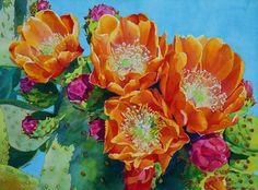 Cheryl Brajner Weinfurtner original watercolor paintings of the Desert Southwest