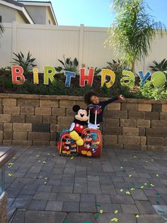 Surprise cruise reveal Disney Reveal, Disney Cruise, Mickey Mouse, Disney Characters, Fictional Characters, Birthday, Art, Art Background, Birthdays