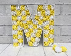 Yellow and white decor Gift for best friend Birthday gift
