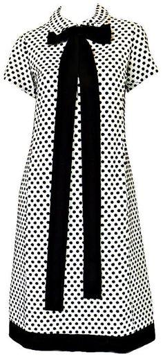 Dress Geoffrey Beene, 1960s