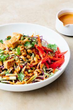Recipe: Tofu and Broccoli Salad with Peanut Butter Dressing — Sunday Night Salads | The Kitchn