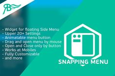 [YV] Snapping Menu for Adobe Muse by Amandea on @creativemarket