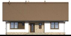 DOM.PL™ - Projekt domu ARN Mokka 2 CE - DOM RS1-78 - gotowy koszt budowy Garage Doors, Cabin, Windows, Outdoor Decor, Home Decor, Decoration Home, Room Decor, Cabins, Cottage