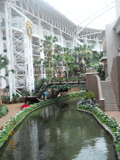 Gaylord Opryland Hotel in Nashville Tn 2011- we visited/toured the inside of the hotel but did not stay here. Tourists do it all the time.