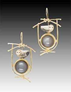 Carolyn Morris Bach earrings