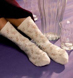 Брюссельские ажурные носки - Модное вязание