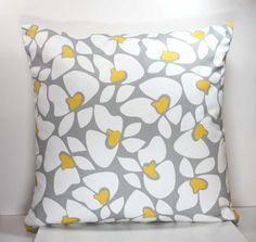 18 Inch Decorative Throw Pillow Cover   by CoolLadyBlueDesigns, $18.00