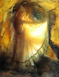 dancer by Eduardo Arguelles Brazile painter