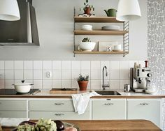 Summer Kitchen, Cosy Kitchen, Big Kitchen, Kitchen Dinning, Kitchen Tiles, Kitchen Pantry, Kitchen Cabinets, Kitchen Interior, Apartment Kitchen