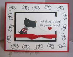 Hot Diggity Dog! by imamuttnut - Cards and Paper Crafts at Splitcoaststampers