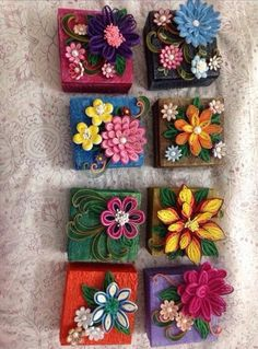 quilled gift boxes