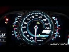 Exclusive! Aventador Interior Features! Gauges, Engine Start Button and Open Doors!