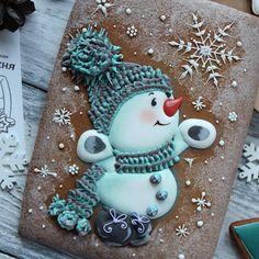 """1,036 To se mi líbí, 43 komentářů – Тесная Кухня (@tesnaya_kuhnya) na Instagramu: """"Радуемся сегодняшнему снегопаду как и этот снеговичок❄❄❄ Такого снеговичка будем делать на…"""""""