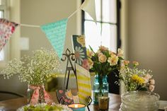 Where the young learn to fly.: Vintage Boho Baby Shower.