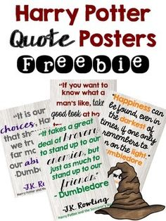Potter Book Quotes Freebie Hi friends,Here are 4 different (and free!) Harry Potter quote posters to hang in your classroom.Enjoy,MartinaHi friends,Here are 4 different (and free!) Harry Potter quote posters to hang in your classroom. Harry Potter Book Quotes, Harry Potter Classes, Harry Potter Classroom, Theme Harry Potter, Harry Potter Room, Hp Quotes, Funny Quotes, Classroom Quotes, New Classroom
