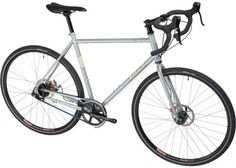 700c, butted 4130, belt drive-internal gearing, disc brakes, fenders and rack mounts. This might be the perfect off-the-shelf commuter bike.
