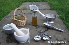 mud kitchens! I started my creative culinary adventures in one...
