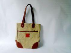 leather+ Canvas bag | Flickr: partage de photos!