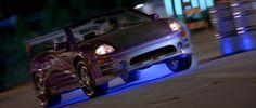 The Main Cars of 2 Fast 2 Furious: 2001 Mitsubishi Eclipse GS-T Spyder
