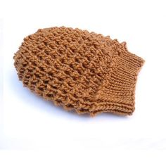 LouLou Knit Lace Slouch / Slouchy Hat. Gold by tortillagirl (Accessories, Hat, Knit, handmade in france, soft, slouch hat, hand knit, women woman, slouchy beanie, light gold brown, saffron, spring springtime, romantic boho style, black friday etsy, autumn winter)