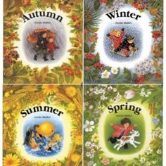 ORDERED SPRING & SUMMER Set of Four Seasons Board Books