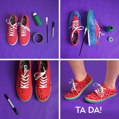 A delicious DIY for your Keds! #diy