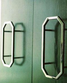 hardware for bedroom closet doors - octagonal pulls