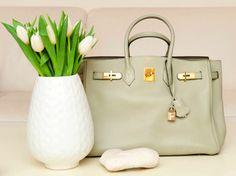 Mint green Hermés Birkin bag... Want. #hermes #birkin #pretty