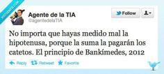 El principio de Bankimedes #humor