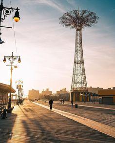 Coney Island by @realjcreel #newyorkcityfeelings #nyc #newyork