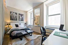 Дизайн квартиры-студии 70 м в Нью-Йорке