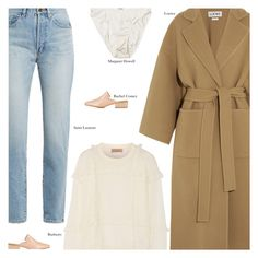 """""""Friday"""" by amberelb ❤ liked on Polyvore featuring Yves Saint Laurent, Loewe, Burberry and Rachel Comey"""