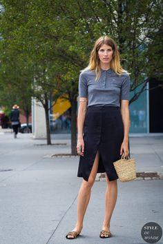 New York Fashion Week SS 2016 Street Style: Veronika Heilbrunner