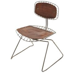 """""""Beaubourg Chair"""" by Michel Cadestin and Georges Laurent 