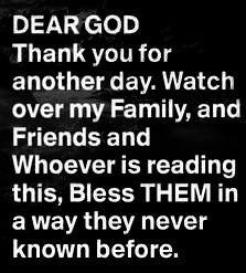 God Bless all of us. He is the answer just ask
