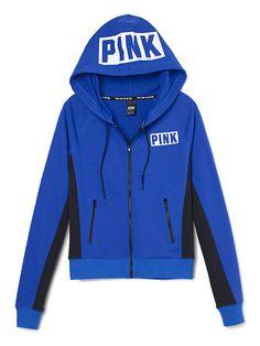 Perfect Zip Hoodie - PINK - Victoria's Secret