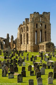 I can see this from the bottom of my street (just) Tynemouth Priory and Castle   English Heritage