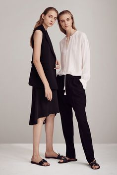 Theory Spring 2016 Ready-to-Wear Fashion Show