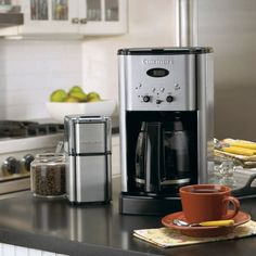 DCC-1200 - Brew Central™ 12-Cup Programmable Coffeemaker - Coffee Bar Collection - Products - Cuisinart.com