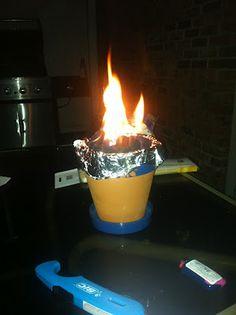 Tabletop Fire Pot