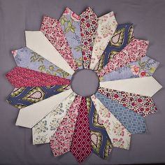 English Paper Piecing Again by JessieAller, via Flickr