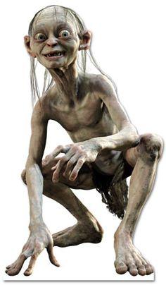 Smeagol - Lord of the Rings - Lifesize Cardboard Cutout Gollum My Precious, Gollum Smeagol, O Hobbit, The Villain, Cool Posters, Political Cartoons, A Christmas Story, Star Wars Art, Lotr