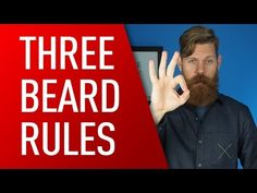 3 Rules for Growing Out Your Beard   https://youtu.be/Y9RibYxMEcs