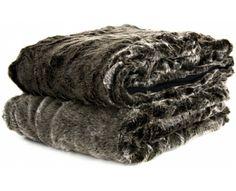 Silver Bear Faux Fur Snuggler
