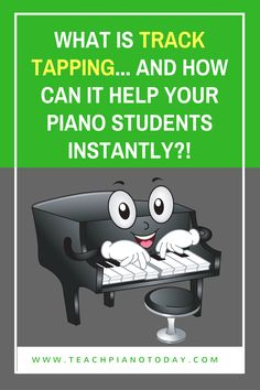 "A quick piano teaching video to demo ""track tapping"" and everything you need to know to use it to teach rhythm to young piano students!"