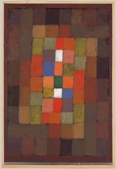Static-Dynamic Gradation. Static-Dynamic Gradation Artist: Paul Klee (German (born Switzerland), Münchenbuchsee 1879–1940 Muralto-Locarno) Date: 1923