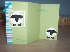 sheep card open