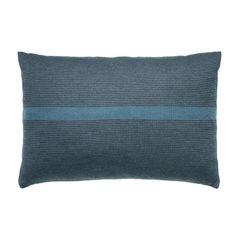 Style B7 petrol/mørkegrå pude fra FUSS - Soveværelse - DesignFund