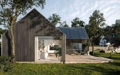 Creative Studio, Facade, Shed, Outdoor Structures, Architecture, Behance, Cases, Design, Collection