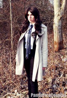 Female!Castiel Cosplay (Supernatural) by AnnaPandorica